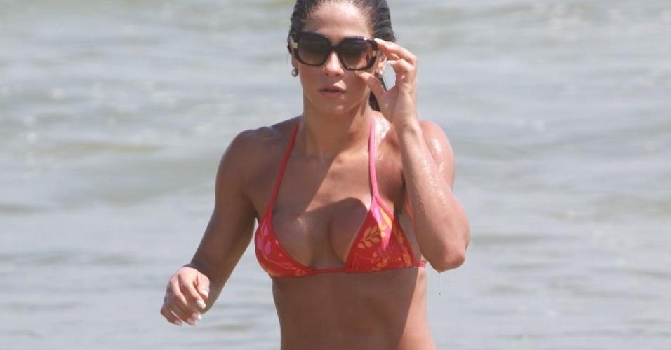 """Depois do """"BBB9"""", Mayra Cardi mostra que continua em forma"""