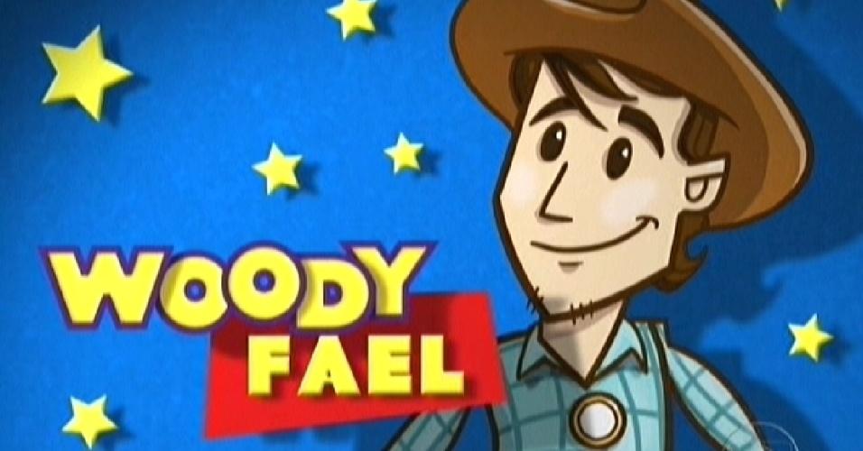 Fael é comparado ao protagonista Woody, de Toy Story (20/3/12)