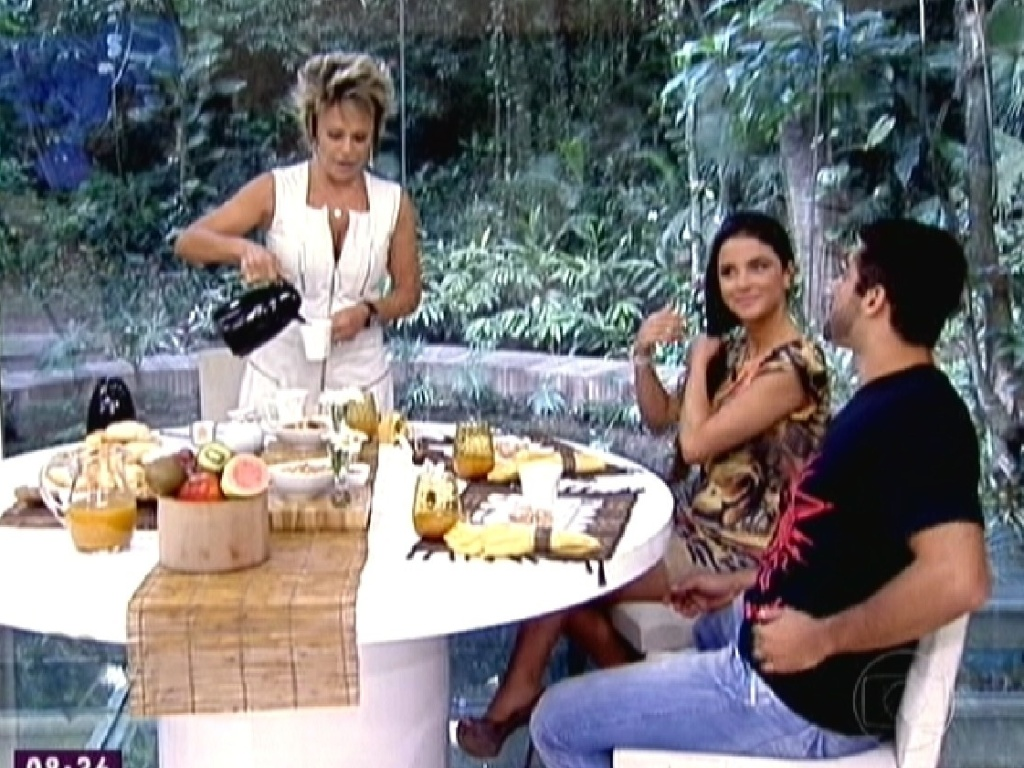 Laisa e Yuri participam do programa