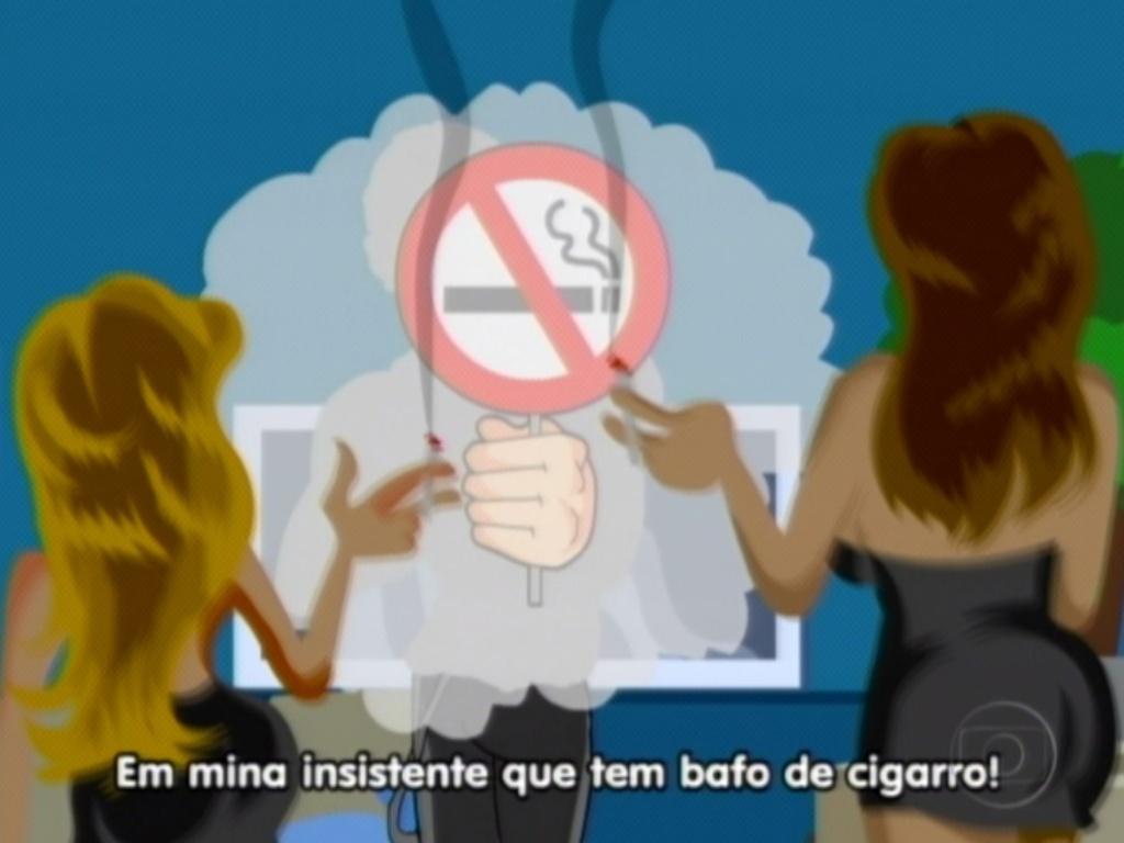Maurício Ricardo relembra que Jonas reclamou de Renata e Monique porque elas fumavam (20/3/12)