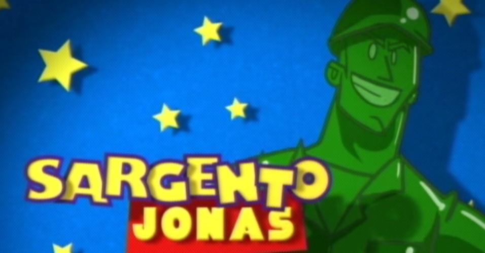 Na edição, Jonas virou sargento (20/3/12)