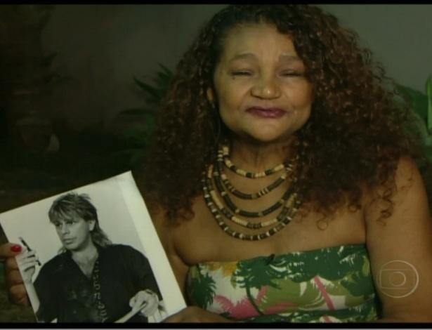 Aparecida, mãe de Daniel elogia filho e mostra foto do pai dele (21/3/12)