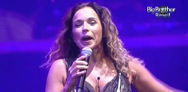 """Daniela Mercury se apresenta no """"BBB12"""" (21/3/12)"""