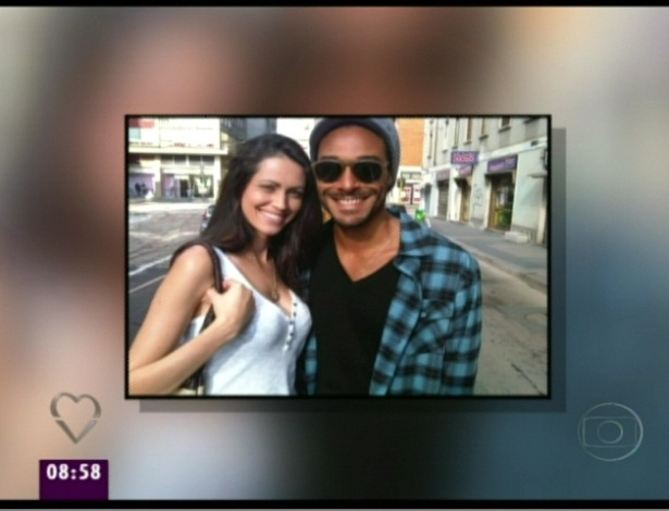 """""""Mais Você"""" mostra foto de Daniel com a ex-namorada, Mônica (21/3/12)"""
