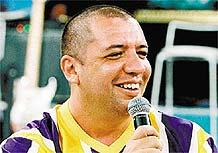 O humorista Bussunda (17/01/2003)