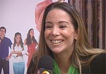 Danielle Winits fala à TV UOL