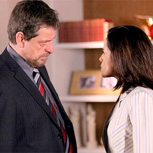 Sofia revela a George que Beatriz foi morar na casa de Fausto