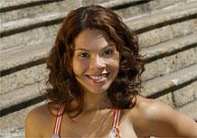 Cacau Melo foi descoberta em 2005 em concurso do Caldeirão do Huck