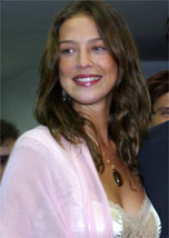 A atriz Luana Piovani