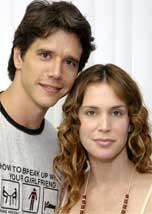 Márcio Garcia e Vanessa Lóes estão em <i>Avassaladoras</i>, que estréia em janeiro