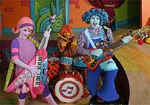 Os Doodlebops, atração do mês das crianças no Disney Channel
