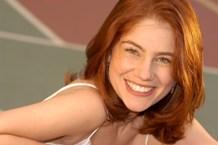 Juliana Baroni interpreta Míriam, que passa a disputar o amor de Marcos (Thiago Fragoso)