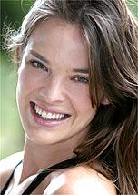 A top Letícia Birkheuer estreou como atriz na novela <i>Belíssima</i>