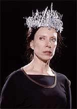 A jornalista está em cartaz em <i>Senhora Macbeth</i>