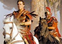Cena da 1ª temporada da minissérie <i>Roma</i>, sobre o início do Império Romano