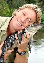 Steve Irwin, o caçadorde crocodilos do Animal Planet