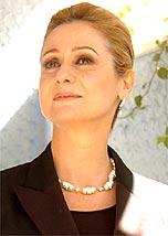 A atriz Zezé Polessa encarnou a vilã Ester<br>em <i>A Lua Me Disse</i>