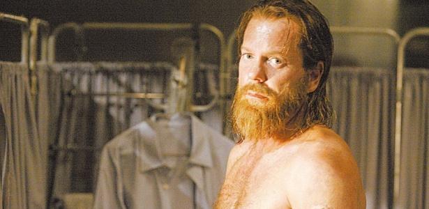 """O ator Kiefer Sutherland, que interpreta Jack Bauer em """"24 Horas"""", durante gravação da série, em 2006"""