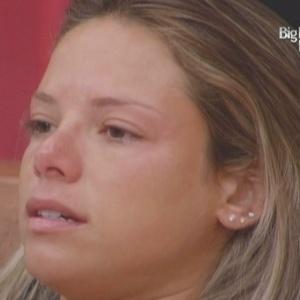 Fernanda ficou nervosa com a indicação da casa (05/02/10)