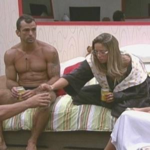 Dourado acredita que Fernanda não será elimininada (6/2/10)