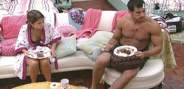 Depois de elogiar, Eli critica a rival Fernanda (12/2/10)