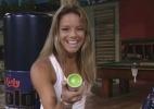 Fernanda é a líder do BBB 10 e descobre que está