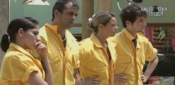 Grupo amarelo vence prova da comida e vai morar na casa principal (14/3/10)