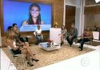 Ana Maria Braga fala com Karen Pila, ex-namorada de Michel