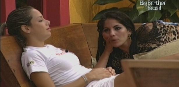Fernanda não gosta do anjo