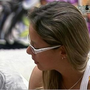 Fernanda pede que Dicesar vote nela se for líder (24/3/10)