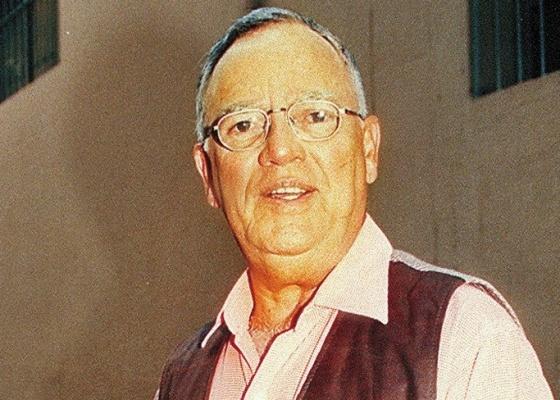 O jornalista Armando Nogueira em foto de março de 1999