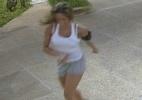 Fernanda se empolga e dança ao som de
