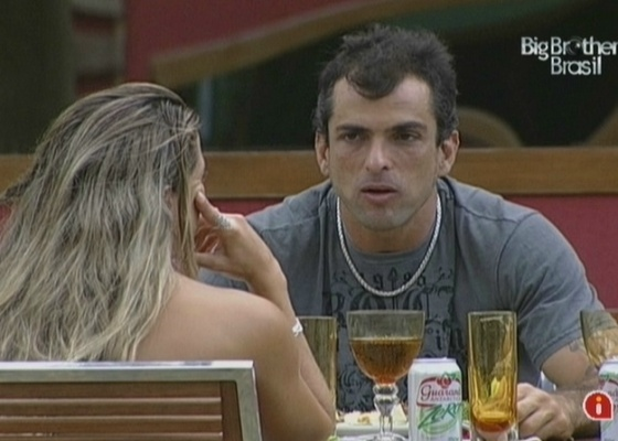 Dourado e Fernanda falam sobre os relacionamentos antes do BBB (30/3/10)