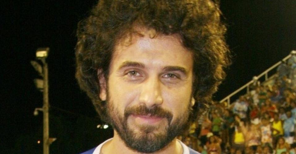Eriberto Leão no ensaio da escola de samba União da Ilha (16/1/10)