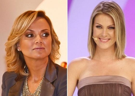 Eliana e Ana Hickmann: apresentadoras disputam telespectadores aos domingos