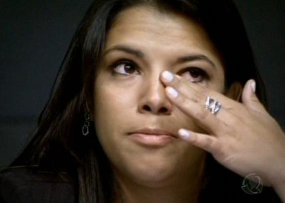 Alessandra, ao ser demitida do Aprendiz 7 (18/5/2010)