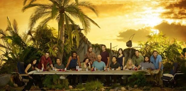 "Poster da sexta temporada de ""Lost"""