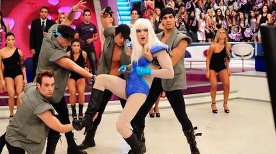 Rodrigo Faro imita Lady Gaga em