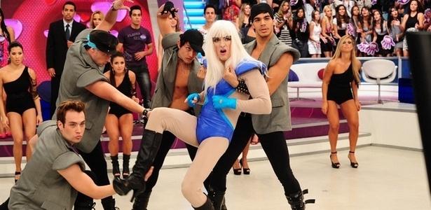 """Rodrigo Faro imita Lady Gaga no """"Vai Dar Namoro"""", quadro que terá edição especial com participantes de Belém"""