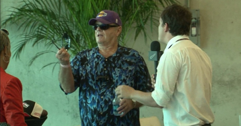 Jack Nicholson e Rafael Cortez em Indianápolis