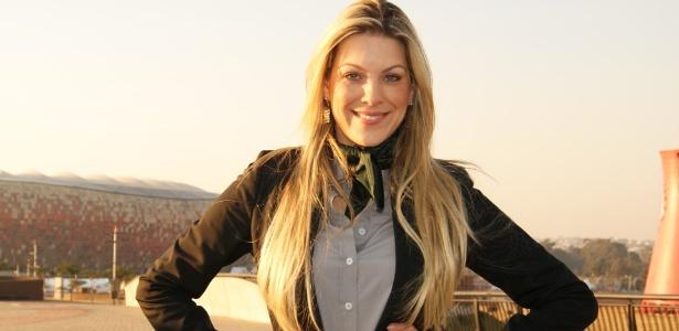 Renata Fan, apresentadora do Jogo Aberto, da TV Bandeirantes