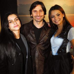 Cleo Pires, Murilo Rosa e Milena Toscano no workshop de