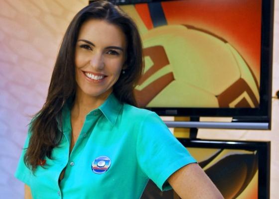 """A jornalista Glenda Kozlowski vai apresentar o """"Esporte Espetacular"""" de domingo, na Globo, junto com o ex-jogador de vôlei Tande"""