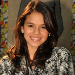 Bruna Marquezine durante workshop da novela