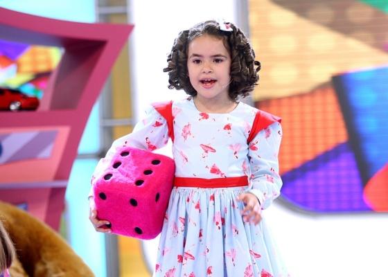 "Menina Maisa no ""Programa Silvio Santos"""
