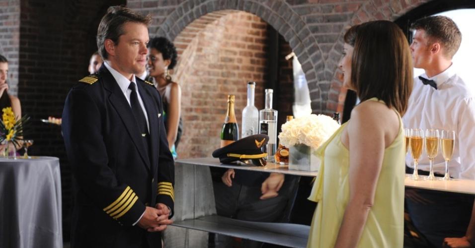Matt Damon será par romântico de Tina Fey em