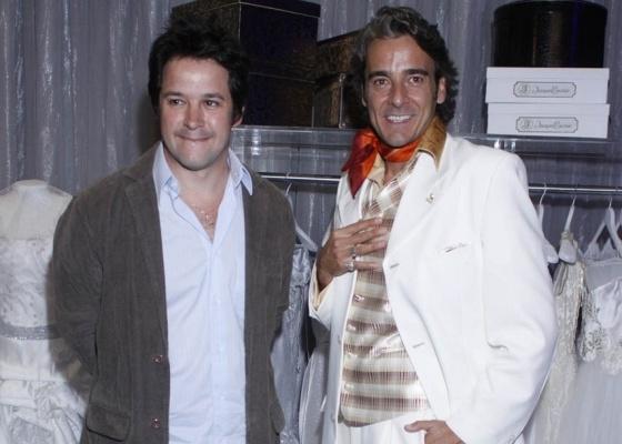 Murilo Benício e Alexandre Borges interpretam, respectivamente, Ariclenes Martins/Victor Valetim e André Spina/Jacques Leclair  na novela Ti-Ti-Ti