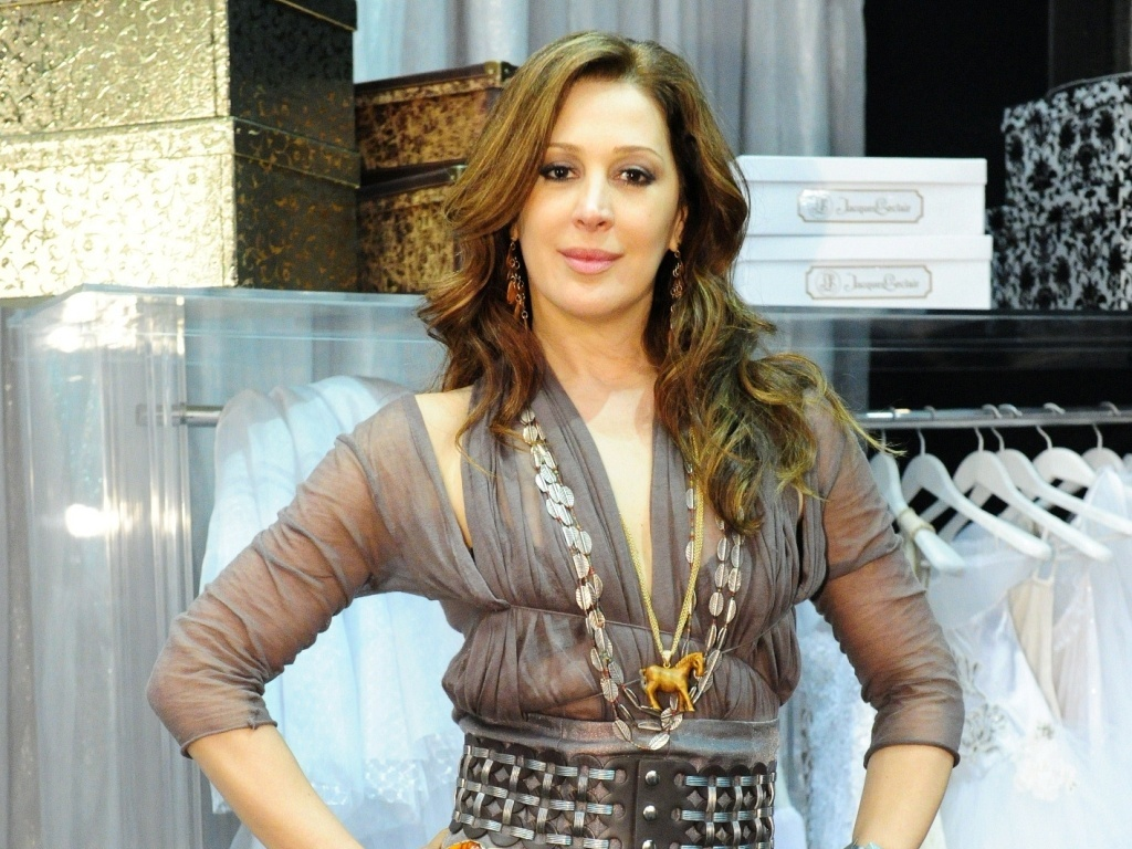 Claudia Raia durante coletiva de imprensa de