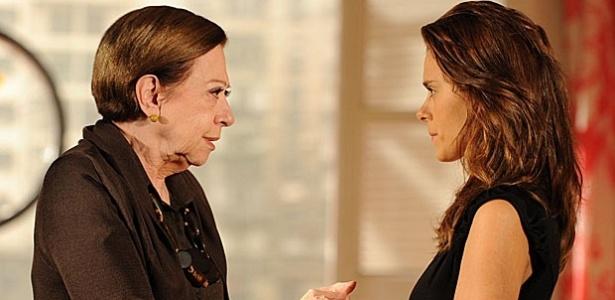 Fernanda Montenegro e Carolina Dieckmann em cena de