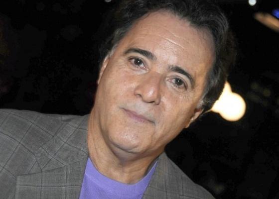 Tony Ramos na festa de lançamento de Passione, em São Paulo (10/5/10)